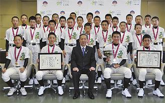 クラストカップに優勝したメンバー