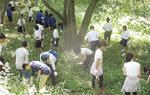 昨年宮古市で行われた合同の避難道整備