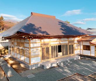 200年ぶりに新築された本堂