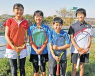 神奈中テニス4選手が活躍