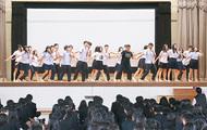 台湾の高校生と交流