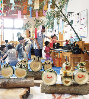 竹細工は2〜3種を作る