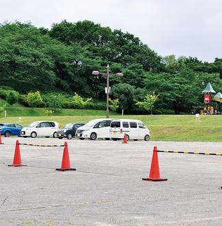 駐車場などに再整備されるレクリエーション広場