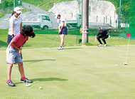 未来のプロゴルファー育成