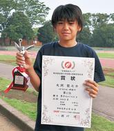 大渕さんが全国で準優勝