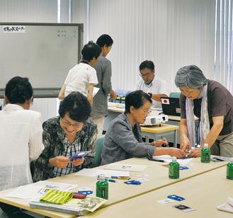 カードゲームでSDGsを学ぶ参加者