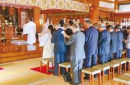 復興への祈り捧げる