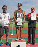 三浦尚文さんが初優勝