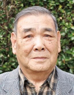 下糟屋地区の老人クラブ「遊友会」の会長を務める 亀井 一男さん 下糟屋在住 82歳