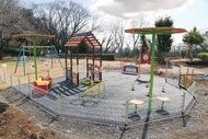 芝生広場が子どもの広場に