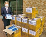 中国からマスク5万枚