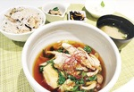 揚げ出し豆腐サワラと冬野菜のあんかけ御膳
