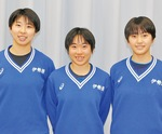 意気込みを語る小俣さん(右)、鈴木さん(中央)、金光さん(左)