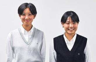 平田さん(左)と岩田さんペア