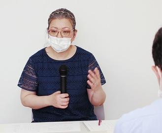 講師の山田理事長