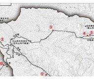 大山道の道標マップ作成