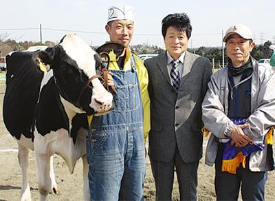 亀井さんの牛が最高位