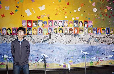 子ども科学館に巨大絵画