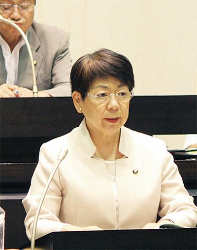 長塚市長が出馬表明