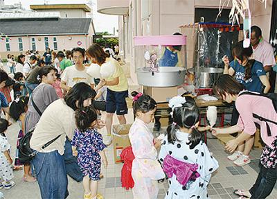 未就園児対象の夏まつり開催