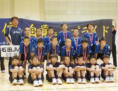 石田JVCが2年ぶり全国へ