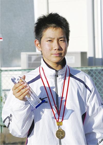 堺君が最優秀選手賞