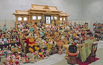 人形の供養祭