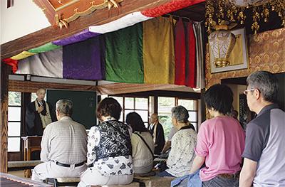 能満寺で法話大会