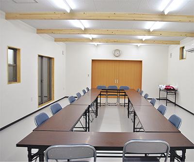 板戸第一自治会館が完成