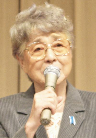 横田早紀江さんが850人に呼びかけ