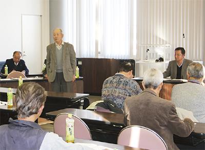 大田東部営農組合が設立