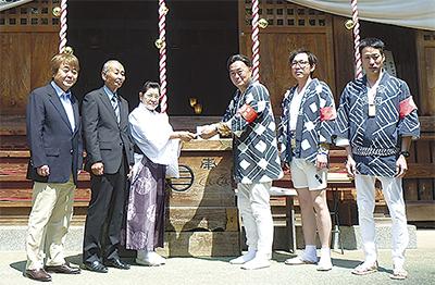 熊本の神社復興へ