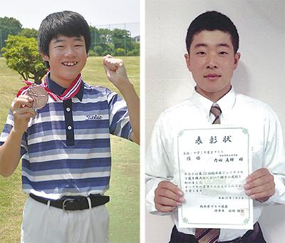 内田兄弟がゴルフで活躍