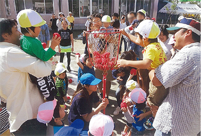 未就園児「なかよし運動会」開催