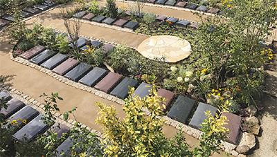 花と緑の庭苑であなたらしく眠る