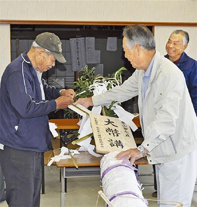 57年ぶりの梵天作り
