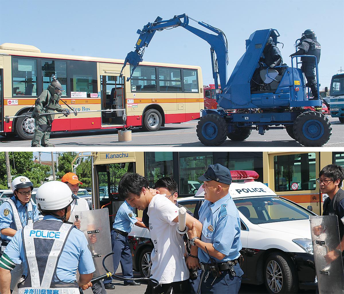 爆発物テロからバス守れ