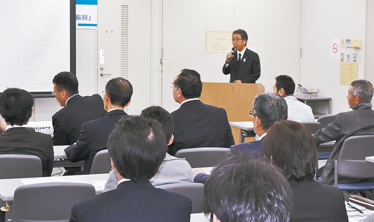 企業庁長招き講演会