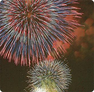 例年いきいき祭りのフィナーレを彩る花火。今年は8月25日(土)に開催される予定