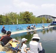 「プール釣り堀」人気ジワリ