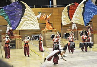 2015年度大会ショー「邪馬台国」で観客を魅了
