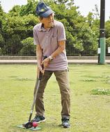 100歳グラウンドゴルファー