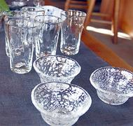 焼き物と吹きガラスの二人展