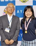 山田美羽さんが市長表敬