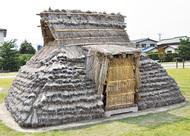 古代式住居に危機