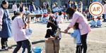綾瀬幼稚園のもちつき ※動画でみこしの様子が見られます