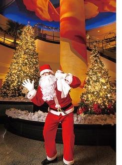 サンタさんが届ける