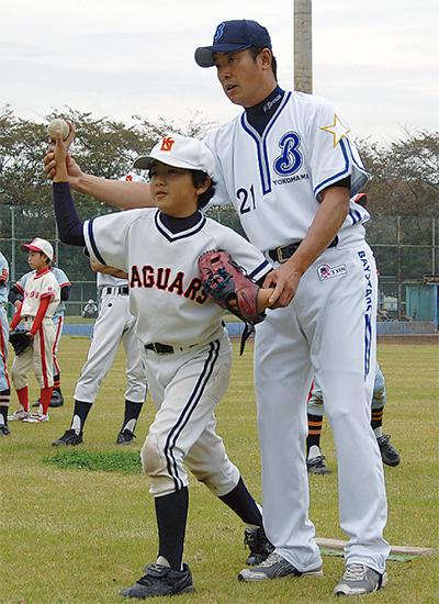 元プロ選手野球指導