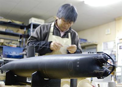 潜水艦ラジコンの