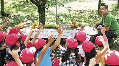 農家が伝える食育
